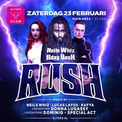 Rush - Neils Whiz Bday Bash